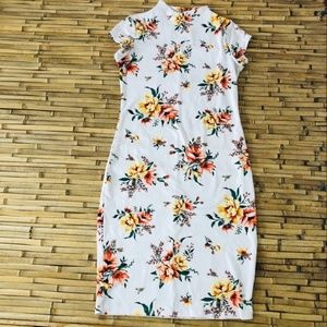 Love Chesley Floral Bodycon Dress